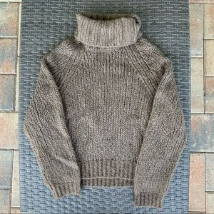 NWOT 360Cashmere Taupe Turtleneck Sweater